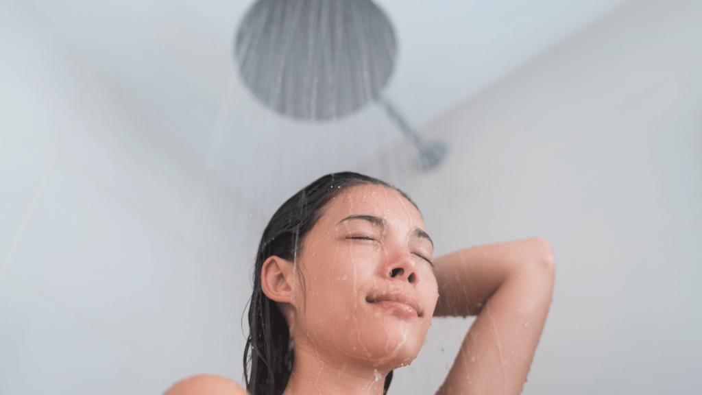 best time to shower